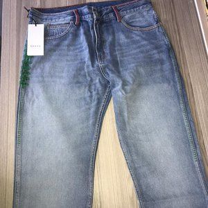 GUCCI CASUAL JEANS MEN NWT